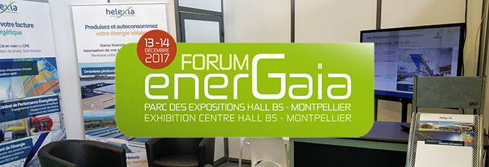 EnerGaïa : Rencontrez nos experts au Forum des Energies